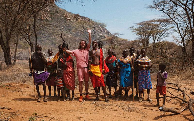 Charles Sabache Camp Maasai