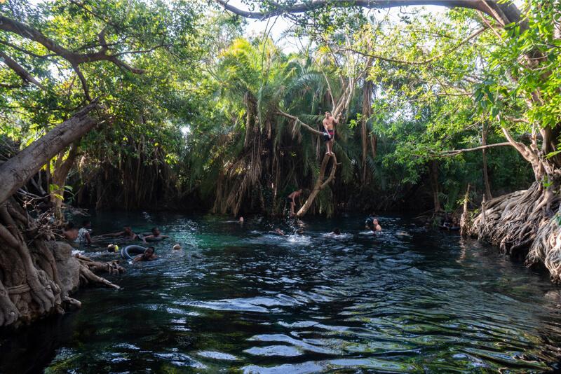 Maji Moto hot springs