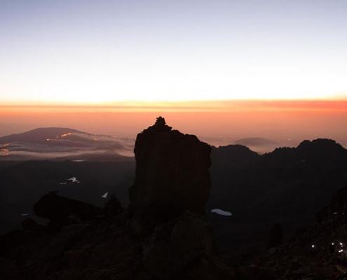 Sunset Mount Kenya
