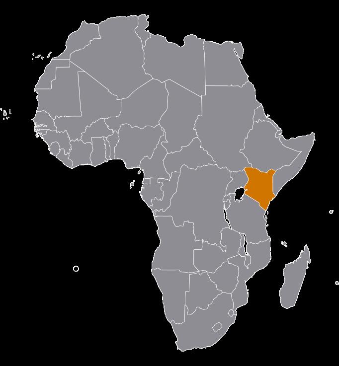 Kenia-map