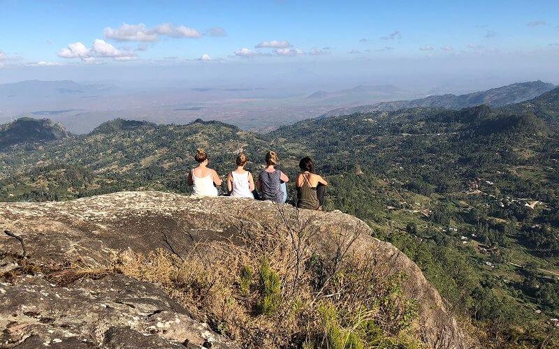 Hiking in de Taita Hills