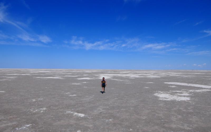 Zoutvlakte Makgadikgadi