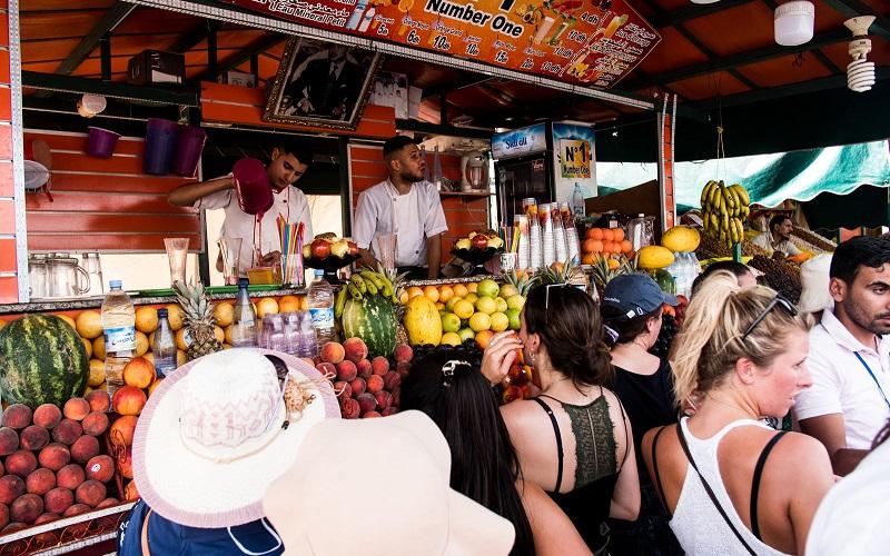 Fruit kopen Marokko