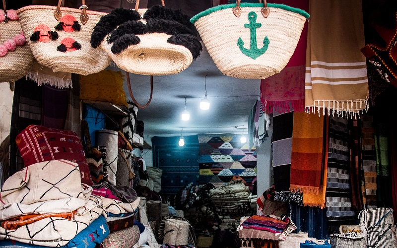 Marokko Souvenier Shop