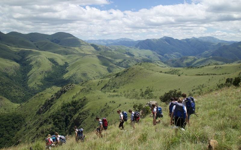 hiking Malolotja