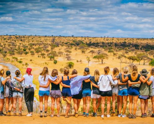lustrumreis vrouwen savanna