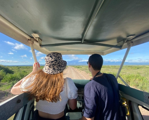 Game Drive in Amboseli National Park