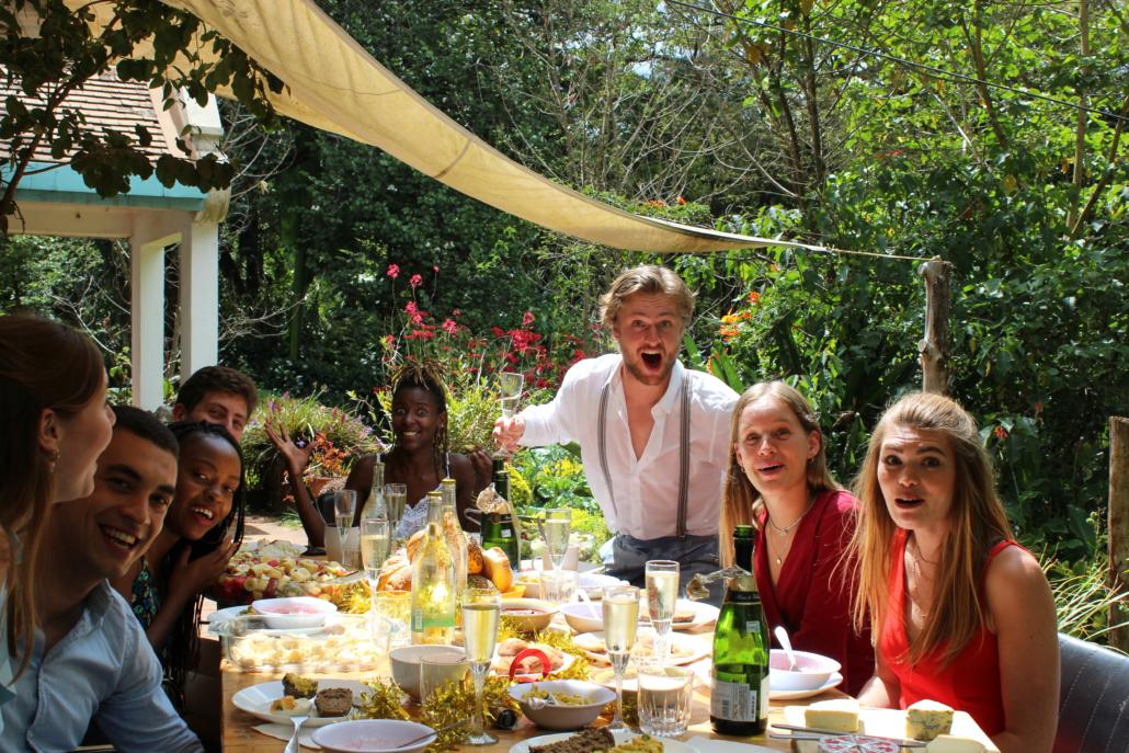 Eten voor Pasen in de Jungle Villa
